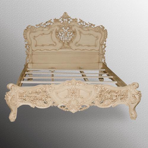 PRODUCTS CATEGORIES\BEDROOM\BEDS & HEADBOARDS\007 ARRDENA.COM RUSTIC FURNITURE BD 003 Rococo Bed